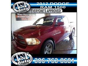 2012 Ram Sport - GOOD, BAD OR NO CREDIT?  WE APPROVE EVERYONE!