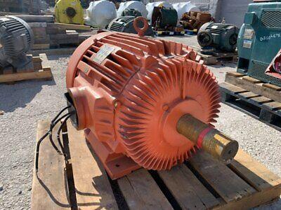 75 Hp Marathon Ac Electric Motor 900 Rpm Fr 444t Tefcbb 460 V Eok