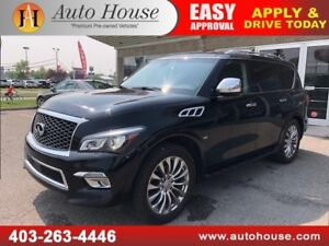 2015 INFINITI QX80 TECH PKG 7 PASS NAVI BACKUP CAM 2 DVD SCREENS