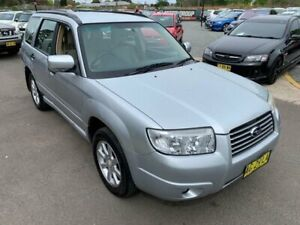 2006 Subaru Forester 79V MY06 XS AWD Silver 4 Speed Automatic Wagon Elderslie Camden Area Preview