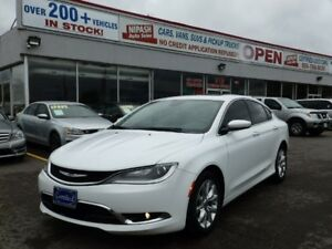 2015 Chrysler 200 C NAVI,CAMERA,USB,PANORAMIC ROOF NO ACCIDENTS