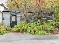 Someone to demolish a 15x20 shed