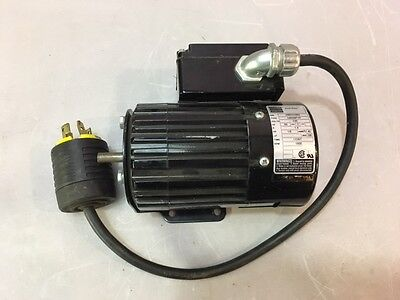 Bodine Electric Motor 18hp 1800rpm 230v 3ph 60hz 1.4amp 34r6bfyp