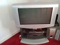 'Free' Old style TV, Sony Trinitron KV- 28LS35U with Stand.