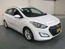 2013 Hyundai i30 GD Tourer Active 1.6 GDi White 6 Speed Automatic Wagon Gateshead Lake Macquarie Area Preview