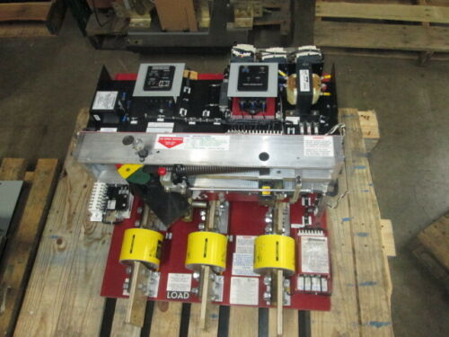 Qa-2533-cbc Pringle 2500a 480v Switch Red Back W/shunt Trip & Ground Fault Plate