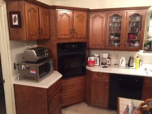 Kitchen cabinets, Complete kitchen, Solid maple doors