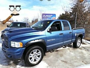 2004 Dodge RAM 1500 4WD QUADCAB LARAMIE For Sale Edmonton