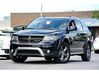 2015 Dodge Journey Crossroad AWD CUIR TOIT CAMÉRA A/C TRIZONE