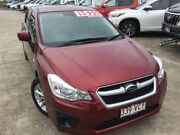 2014 Subaru Impreza G4 MY14 2.0i Lineartronic AWD Red 6 Speed Constant Variable Hatchback Currimundi Caloundra Area Preview