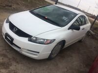 2010 HONDA CIVIC PARTS CAR PARTING OUT Winnipeg Manitoba Preview