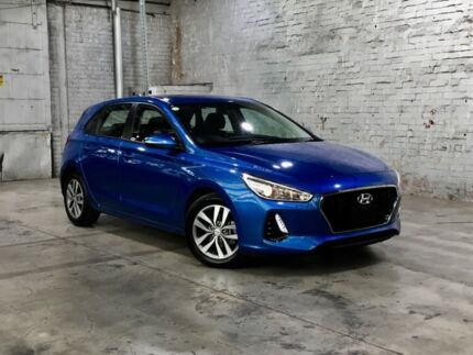 2017 Hyundai i30 PD MY18 Active Blue 6 Speed Sports Automatic Hatchback Mile End South West Torrens Area Preview