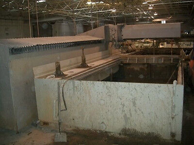 Flow Integrated Flying Bridge Ifb 714000 Cnc Waterjet Cutting System
