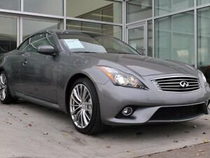 2013 Infiniti G37 ONLY 16000KM/CONVERTIBLE/HEATED FRONT SEATS/RE