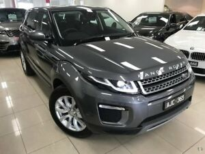 2016 Land Rover Range Rover Evoque L538 MY17 TD4 150 SE Grey 9 Speed Sports Automatic Wagon
