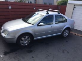 VW Bora TDI 130 Sport 6 speed diesel with low mileage, well maintained, great runner
