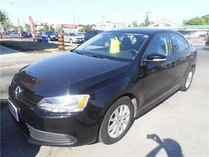 2011 Volkswagen Jetta 2.0L Auto 4Door Black only 92,000km
