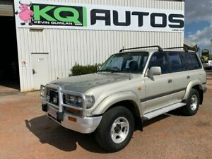 1996 Toyota Landcruiser FZJ80R GXL Silver 4 Speed Automatic Wagon Durack Palmerston Area Preview