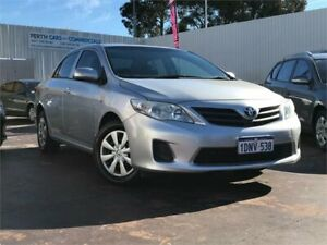 2010 Toyota Corolla ZRE152R MY10 Ascent Silver 6 Speed Manual Sedan East Victoria Park Victoria Park Area Preview