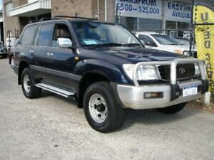 1999 Toyota Landcruiser FZJ105R GXL (4x4) Blue 4 Speed Automatic 4x4 Wagon Wangara Wanneroo Area Preview