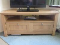 Next Malvern Oak Effect Tv Unit With Drawers