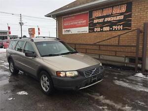 2002 Volvo V70 XC AWD CROSS COUNTRY T5***ONLY 134 KMS**AS IS