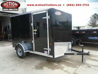 2016 Haulin 6 x 10 cargo trailer -LOWEST PRICE FOR STD FEATURES