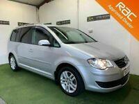 2009 Volkswagen Touran 1.9 TDI SE 105BHP 7 Seater *Finance Available** (smax,zafira,sharan)