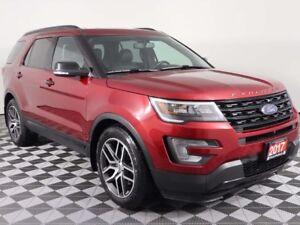 2017 Ford Explorer w/PANORAMIC ROOF, NAVIGATION, HEATED AND COOL