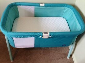 Chicco Lullago Cot / Crib - Turquoise