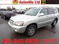 2006 Toyota Highlander LIMITED V6 leather 4wd auto