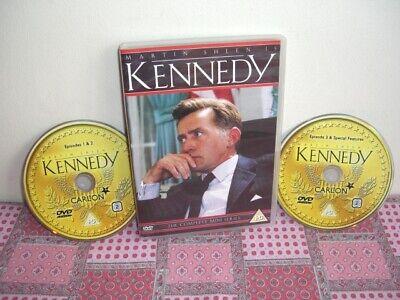 Kennedy DVD, 2003, 2-Disc Set Martin Sheen The Complete ITV Mini Series
