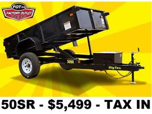 LARGEST SELECTION OF DUMP TRAILERS! ***OUT THE DOOR PRICES***