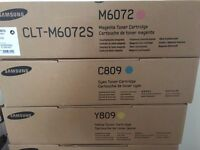 Samsung Toner Cartridge Magenta, Cyan, Yellow