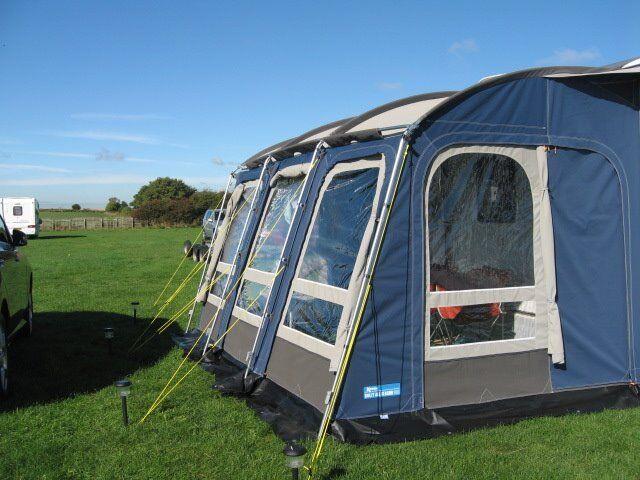 Kampa 390 All Season Caravan Awning. Only used 4 times ...