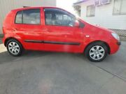 2007 Hyundai Getz TB MY06 Red 5 Speed Manual Hatchback Rosslea Townsville City Preview