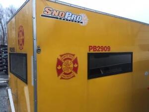 2014 Sno Pro 4x6 Ice Hut