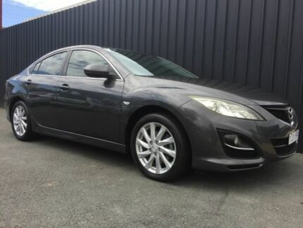 2011 Mazda 6 GH MY10 Classic Grey 6 Speed Manual Sedan Phillip Woden Valley Preview