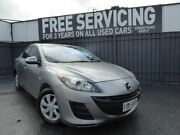 2010 Mazda 3 BL10F1 MY10 Neo Grey 6 Speed Manual Sedan Old Reynella Morphett Vale Area Preview