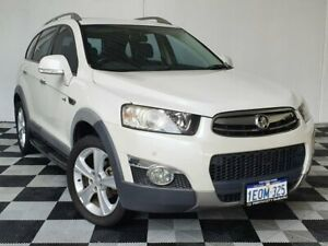 2013 Holden Captiva CG MY13 7 AWD LX White 6 Speed Sports Automatic Wagon Victoria Park Victoria Park Area Preview