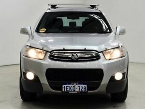2013 Holden Captiva CG MY13 7 Silver 6 Speed Sports Automatic Wagon Edgewater Joondalup Area Preview