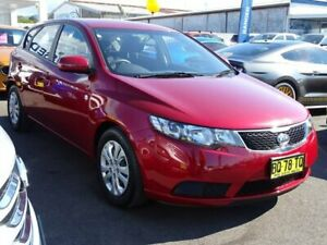 2012 Kia Cerato TD MY12 S Red 6 Speed Sports Automatic Hatchback Albion Park Rail Shellharbour Area Preview