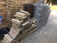 Paving blocks and wall bricks for sale