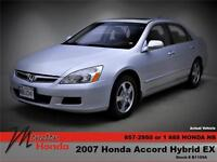 2007 Honda ACCORD HYBRID Front-wheel Drive