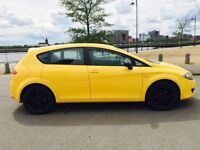 SEAT LEON 1.6 EMOCION 5d 101 BHP LOW RATE FINANCE,READY 2 DR (yellow) 2009