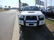 2011 Toyota Hilux KUN26R Workmate White 5 Speed Manual Dual Cab Garbutt Townsville City Preview