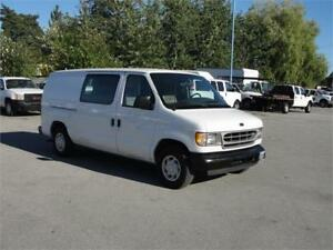 2002 FORD E-150 CARGO VAN V6 ONLY 131000KM