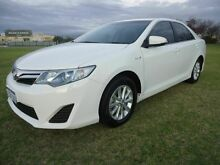 2012 Toyota Camry AVV50R Hybrid H White 1 Speed Constant Variable Sedan Embleton Bayswater Area Preview