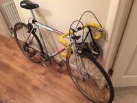 Refurbished Road bike and three tubes for sale - £120