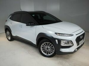 2017 Hyundai Kona OS MY18 Elite D-CT AWD White 7 Speed Sports Automatic Dual Clutch Wagon Mount Gambier Grant Area Preview